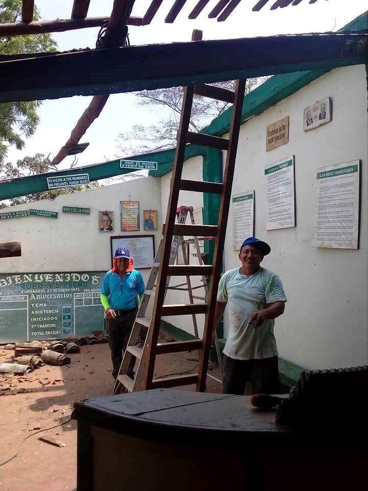 "Ce week-end, au groupe ""San Pedro"" de León, Nicaragua"