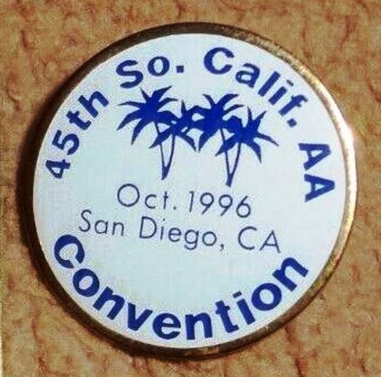 Octobre 1996 : 45° Convention de Californie du Sud, à San Diego