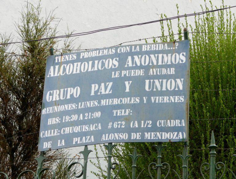 BOLIVIE Alcohólicos Anónimos®