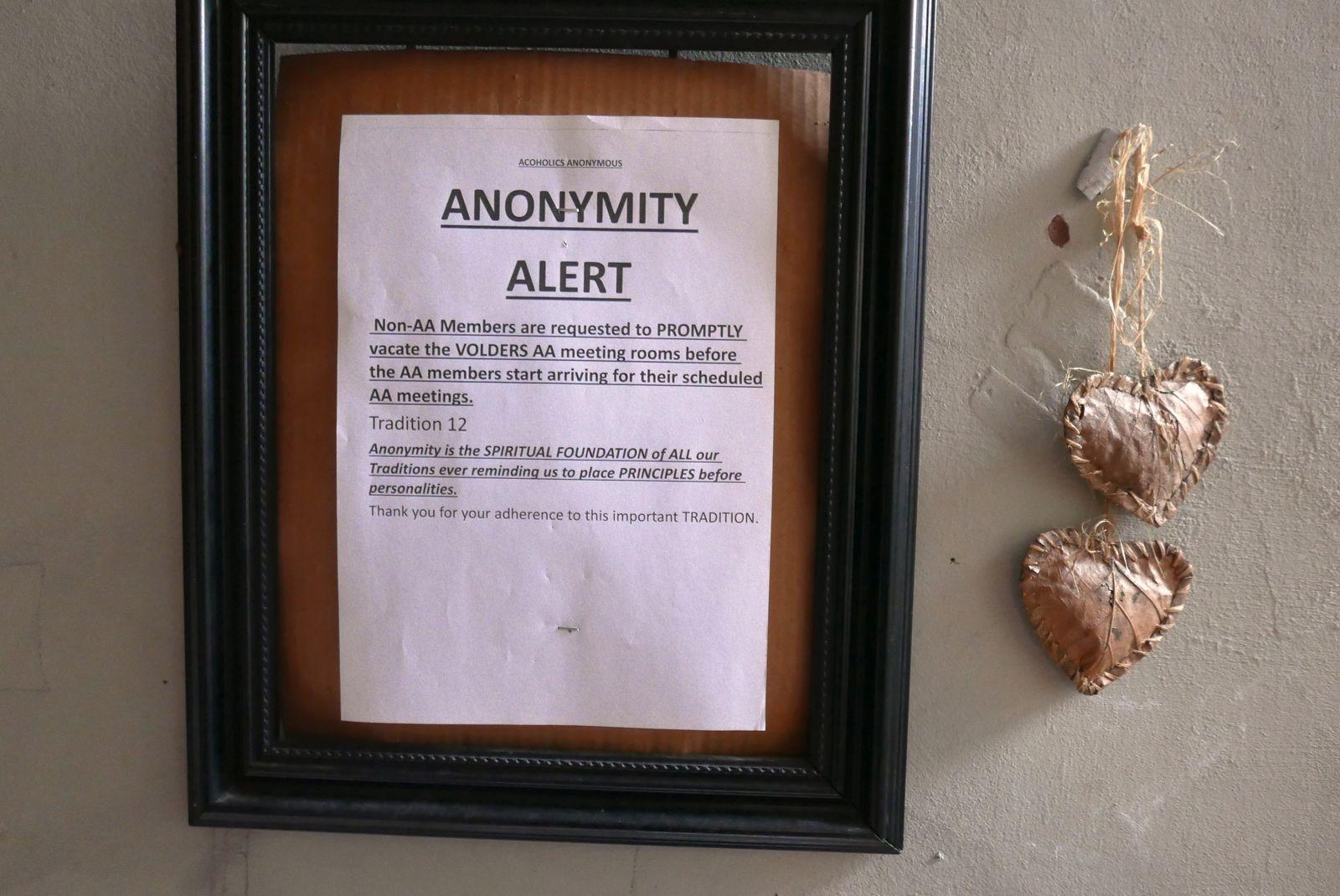 Alerte Anonymat