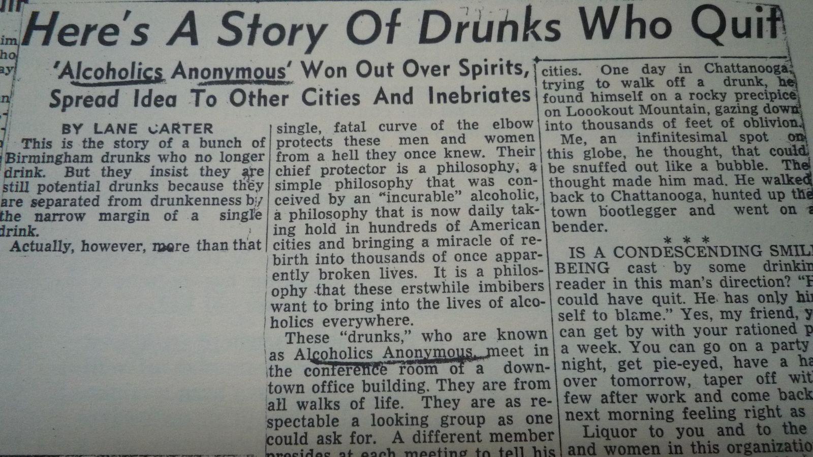 USA, birmingham news, 26 septembre 1943