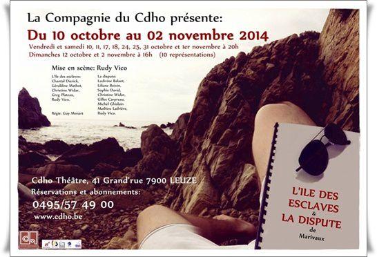 ALBUM - Cie du Cdho - LA DISPUTE § L'ILE DES ESCLAVES de Marivaux