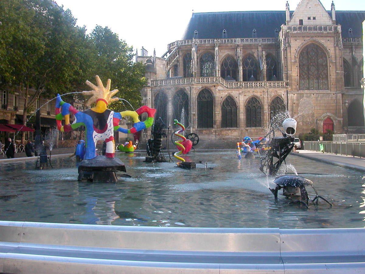 Art et Culture : La Fontaine Stravinsky
