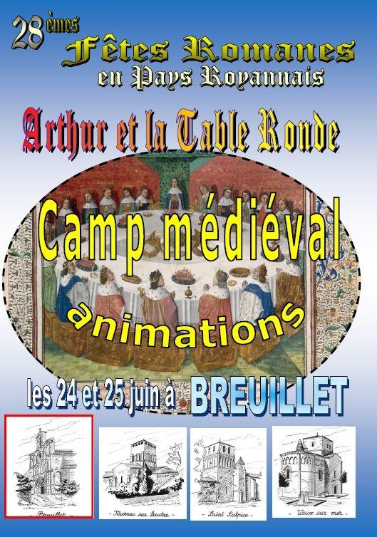 Fêtes Romanes à Breuillet 24 et 25 juin, avec les G2S