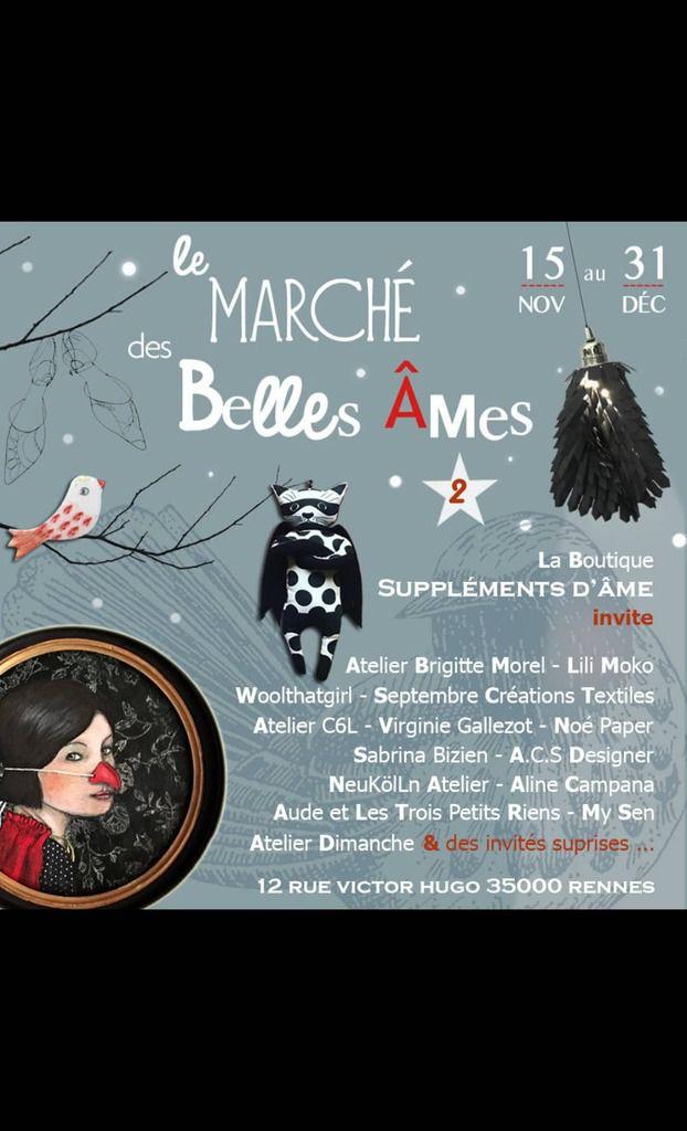 Le marché des belles âmes... Rennes Suppléments d'âme