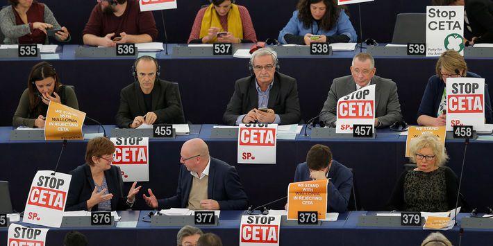 Tous contre le CETA !