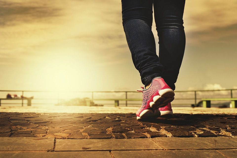 Le bonheur de marcher...
