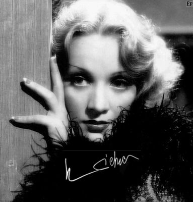 Marlène Dietrich, la scandaleuse...