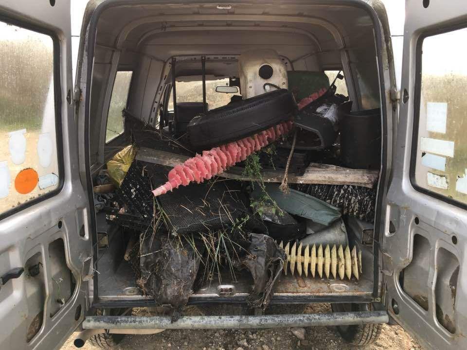 Bilan de l'opération de nettoyage de plage à La Basse roche