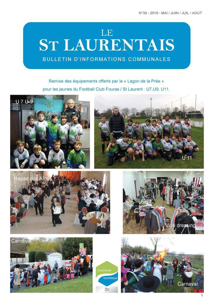 Le St Laurentais N° 39