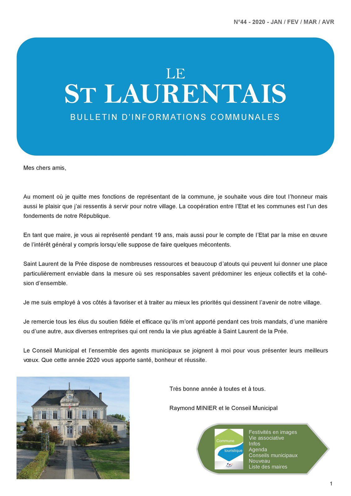 Le St Laurentais N° 44
