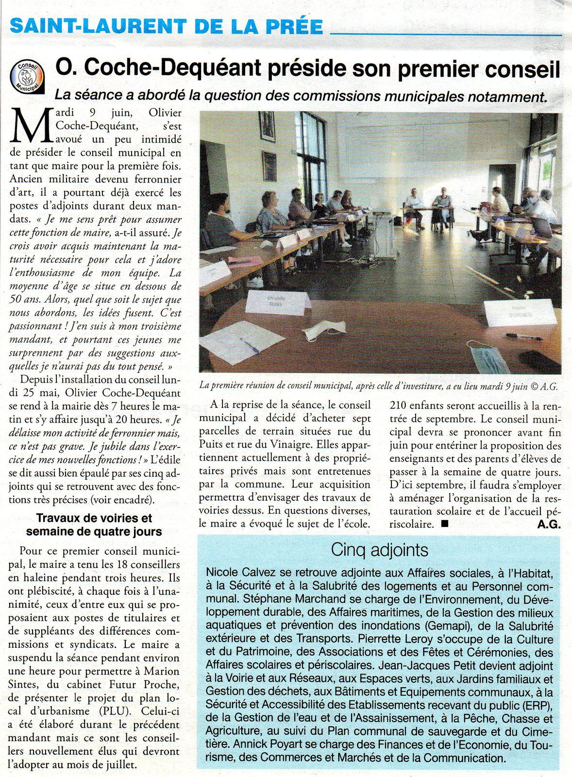 ARTICLE JOURNAL LE LITTORAL