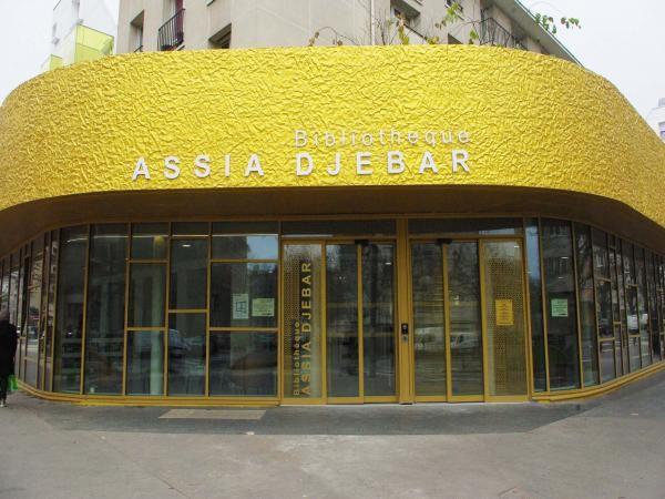 La bibliothèque Assia Djebar (XXe) ferme ses portes en urgence pour cause de droit de retrait des personnels