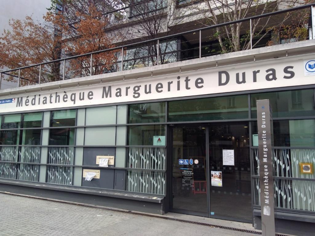 Un cas de Covid-19 détecté à la bibliothèque Marguerite Duras (XXe)