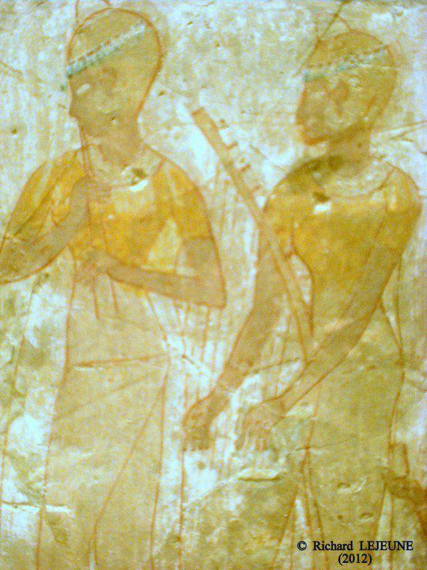 DE LA MUSIQUE ÉGYPTIENNE ANTIQUE - 2. INSTRUMENTISTES ET INSTRUMENTS