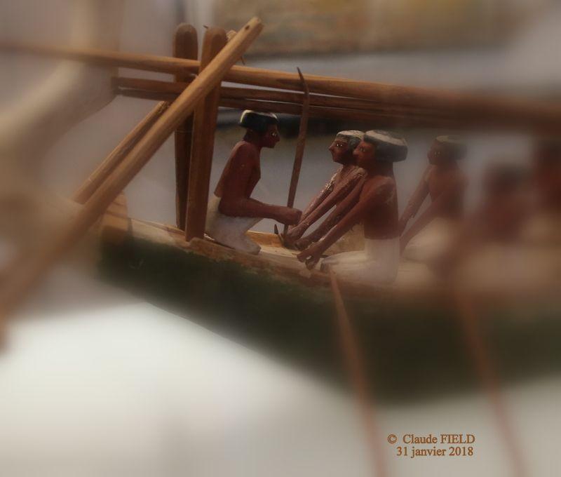 DE LA NAVIGATION ÉGYPTIENNE - 4. MODÈLES RÉDUITS D'EMBARCATIONS  (E 11993/E 11994  et  E 12027)