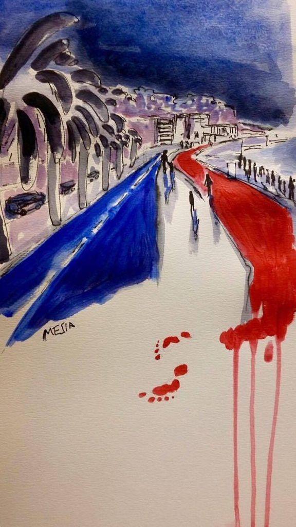 Attentat à NICE : Réaffirmons les valeurs de solidarité, de paix et de fraternité !