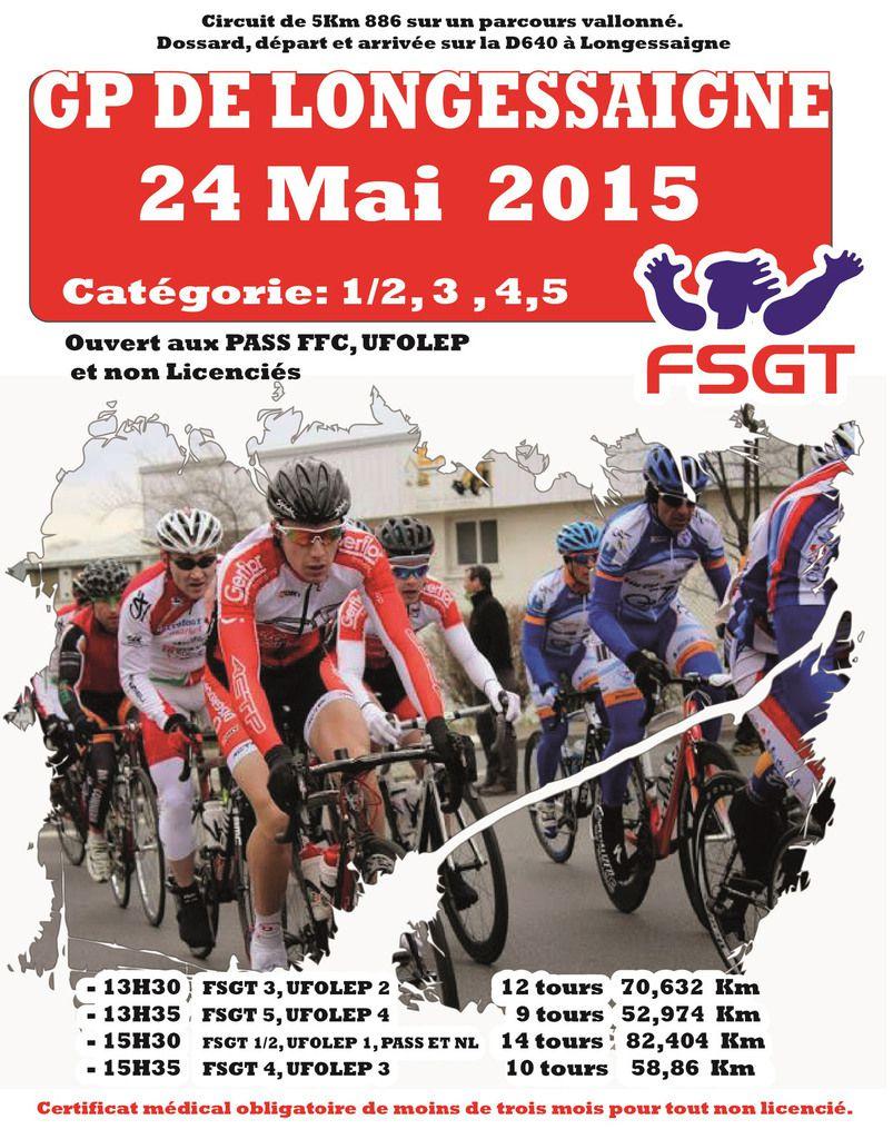 24 mai 2015 Course de Longessaigne