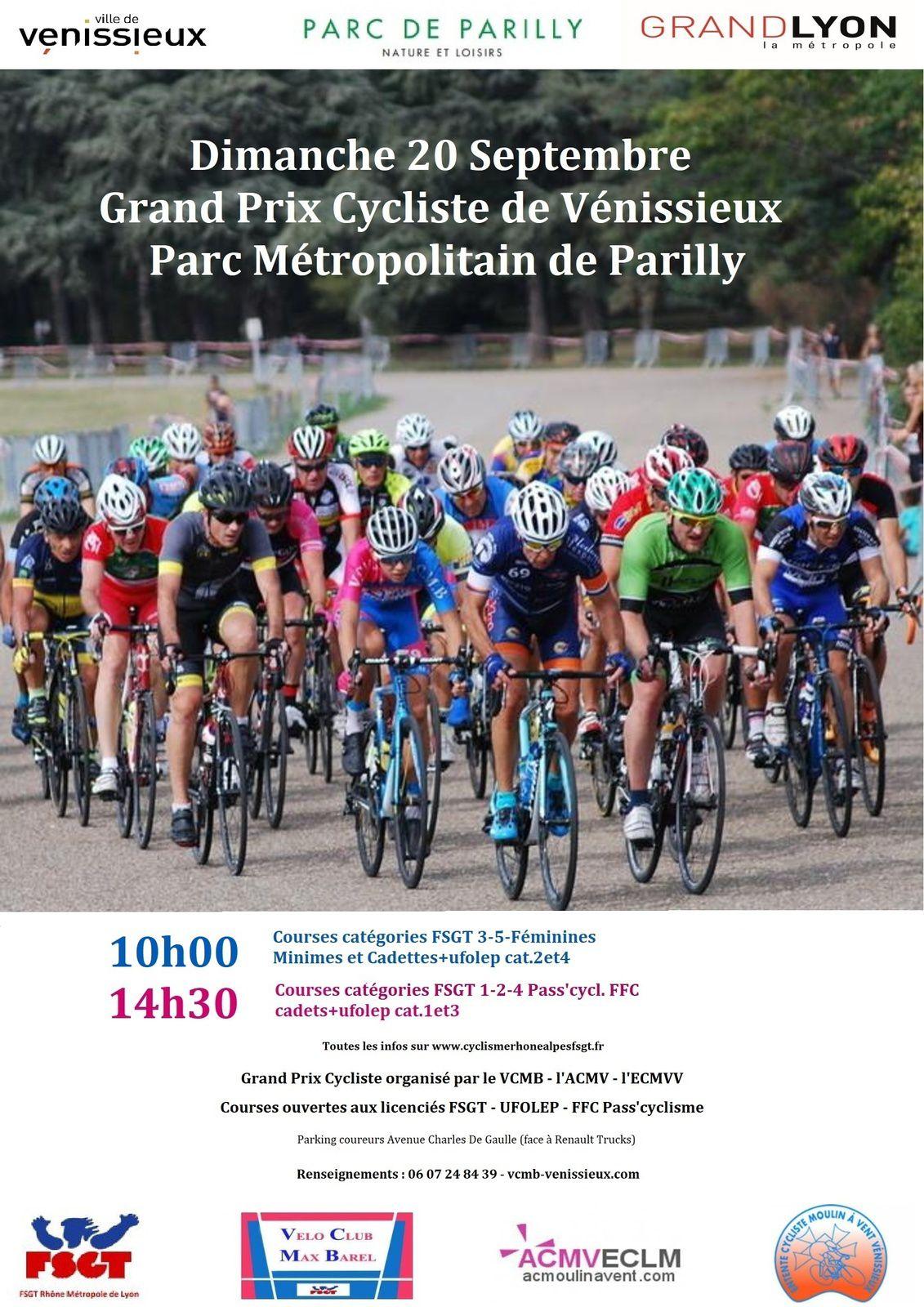 26 ème Prix de la Ville de Vénissieux