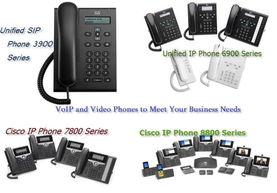 Cisco VoIP and Video Phones to Meet a Range of Needs - Cisco