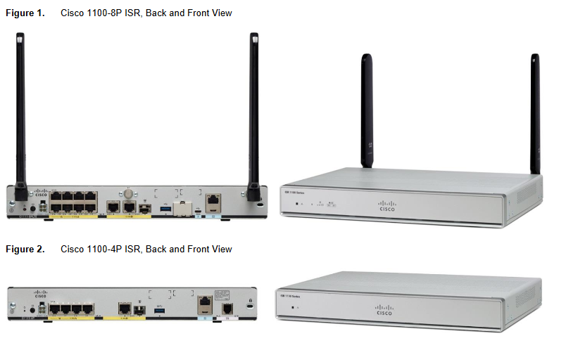 The Cisco 1000 Series ISR platform comparison - Netmode