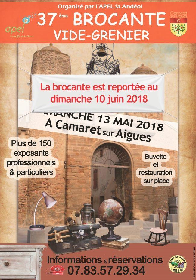 Brocante Camaret : reportée au 10 juin... à vos inscriptions !
