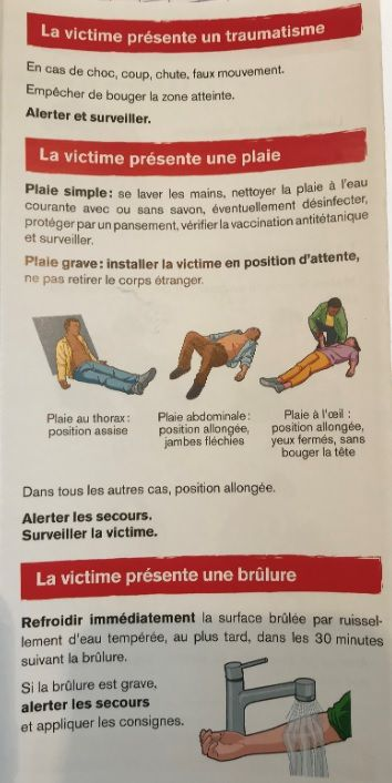 flyer 1ers secours
