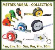 Collection de mètres à ruban publicitaires