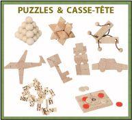 puzzles et casse-tête publicitaires