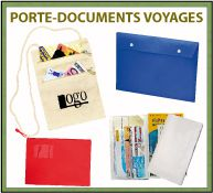 Menu porte-documents pour voyages