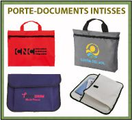 Menu porte-documents en intissé