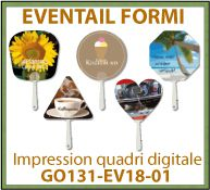Eventail cinq formes en carton FSC tige plastique fabrication europe - GO131-EV18-01