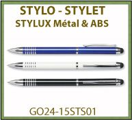 Stylet stylo stylux
