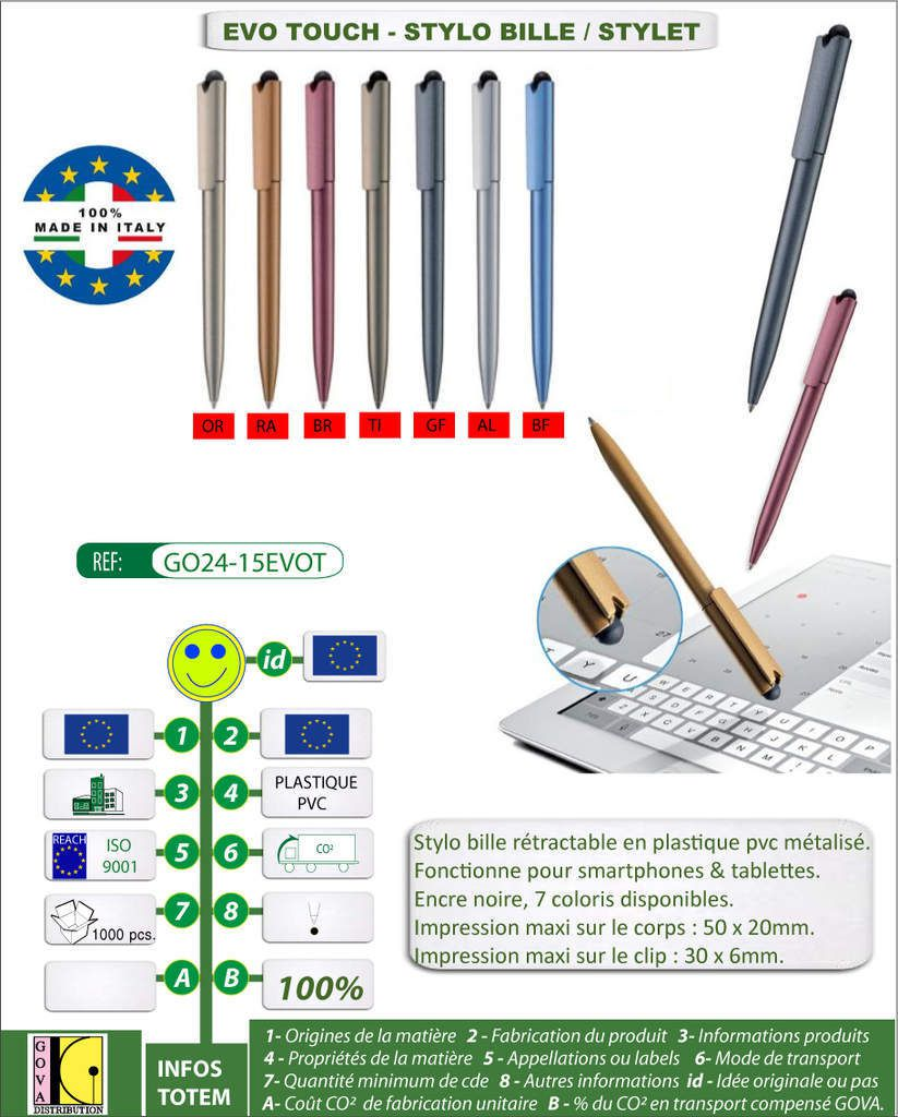 Stylet / stylo EVO TOUCH
