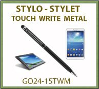 Stylet touch write metal