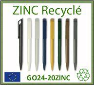 stylo bille fabrique a partir de plastique abs recycle