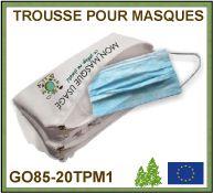 masque de protection écologique réutilisable et lavables