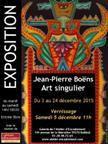 Art Singulier à la Galerie de l'Atelier en Décembre