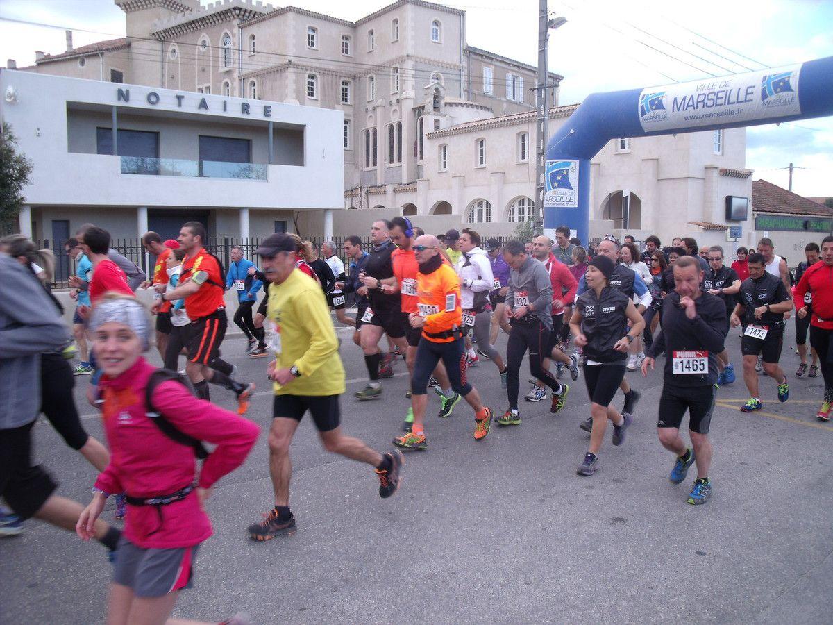 Résultats 14è Ronde de Château Gombert 2015