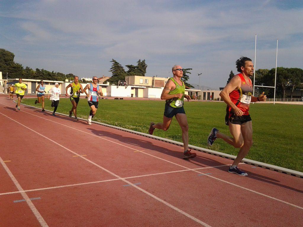 Les Soirées piste FSGT 2014 à l'ACP Marseille (1500m et 3000m)