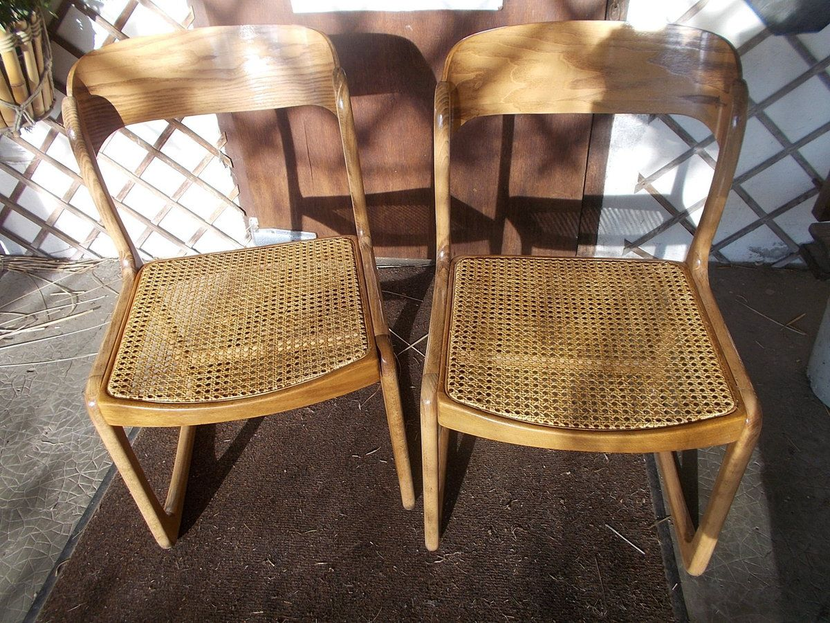 Chaises avec cannage moderne
