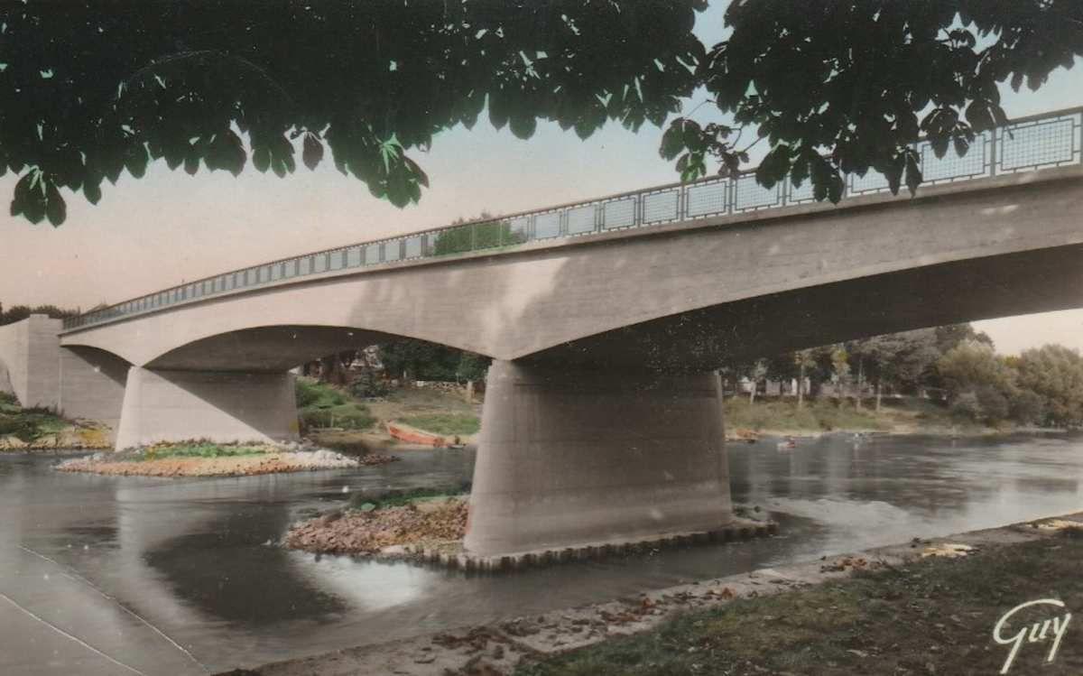 Pont de Gournay et crue de la Marne...