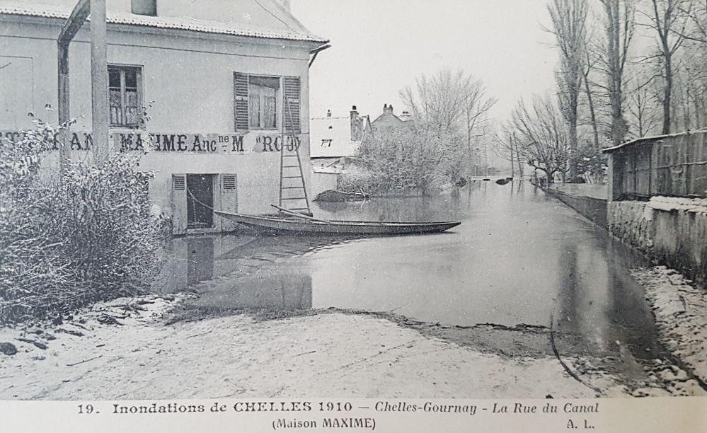 Maxime dernier restaurant de Gournay rive droite