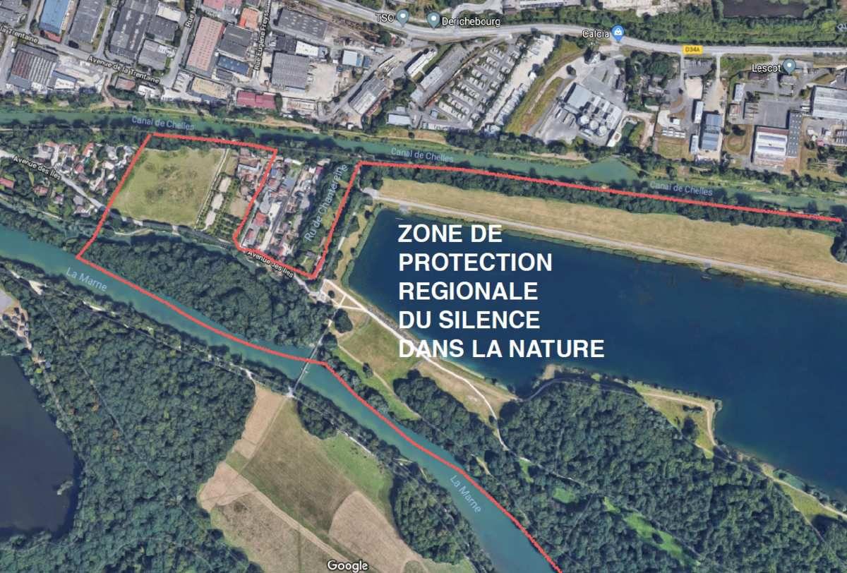 DECIBELS INTERDITS dans les espaces verts classés de la Région