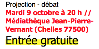 REGARDS sur nos assiettes de Pierre Beccu: projection suivie d'un débat... Chelles 9 octobre à 20h