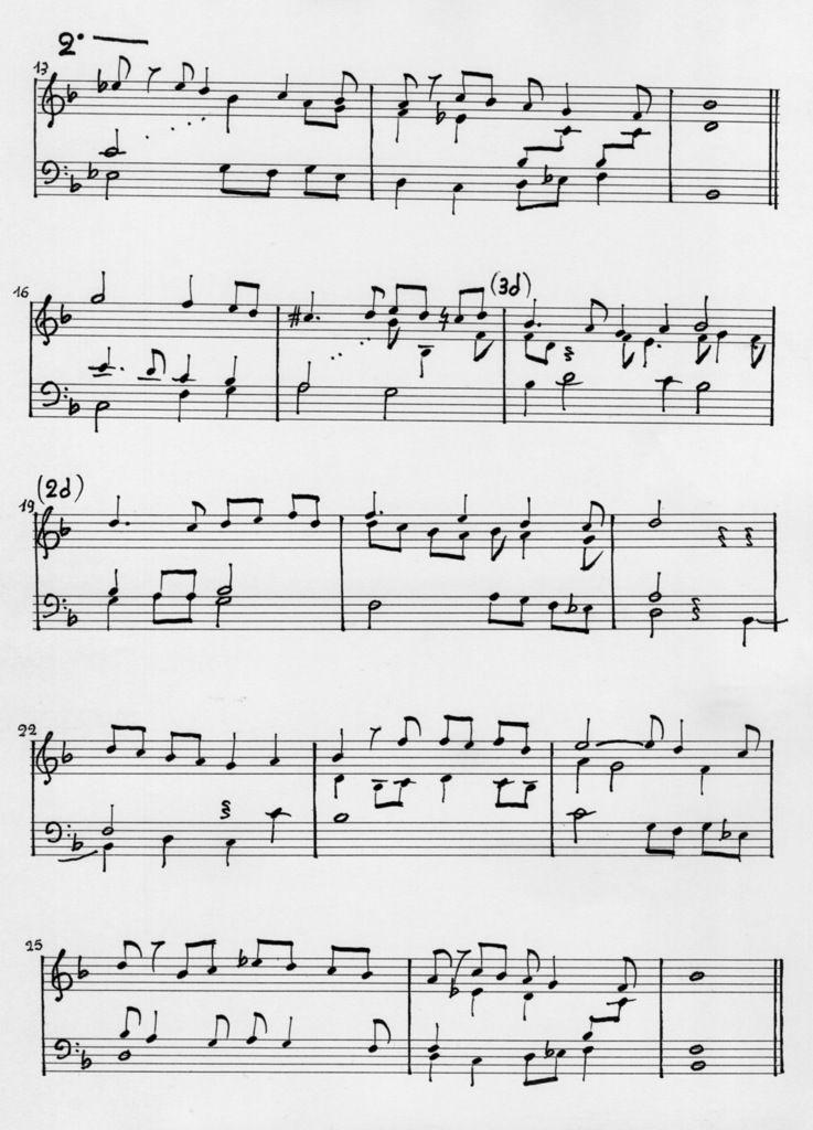 Guillaume de Machaut. Transcription pour Klavier de la troisième Ballade.