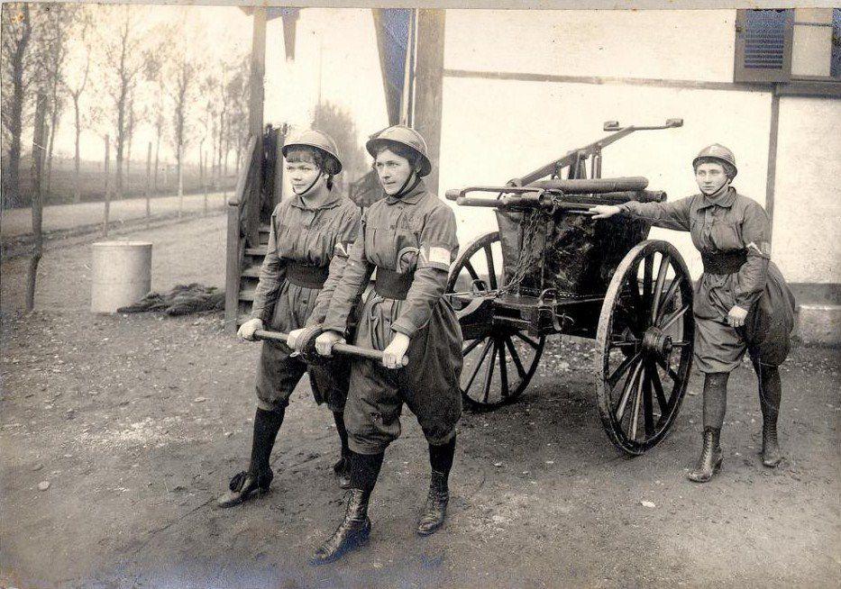 Guerre de 14-18, les femmes au travail.