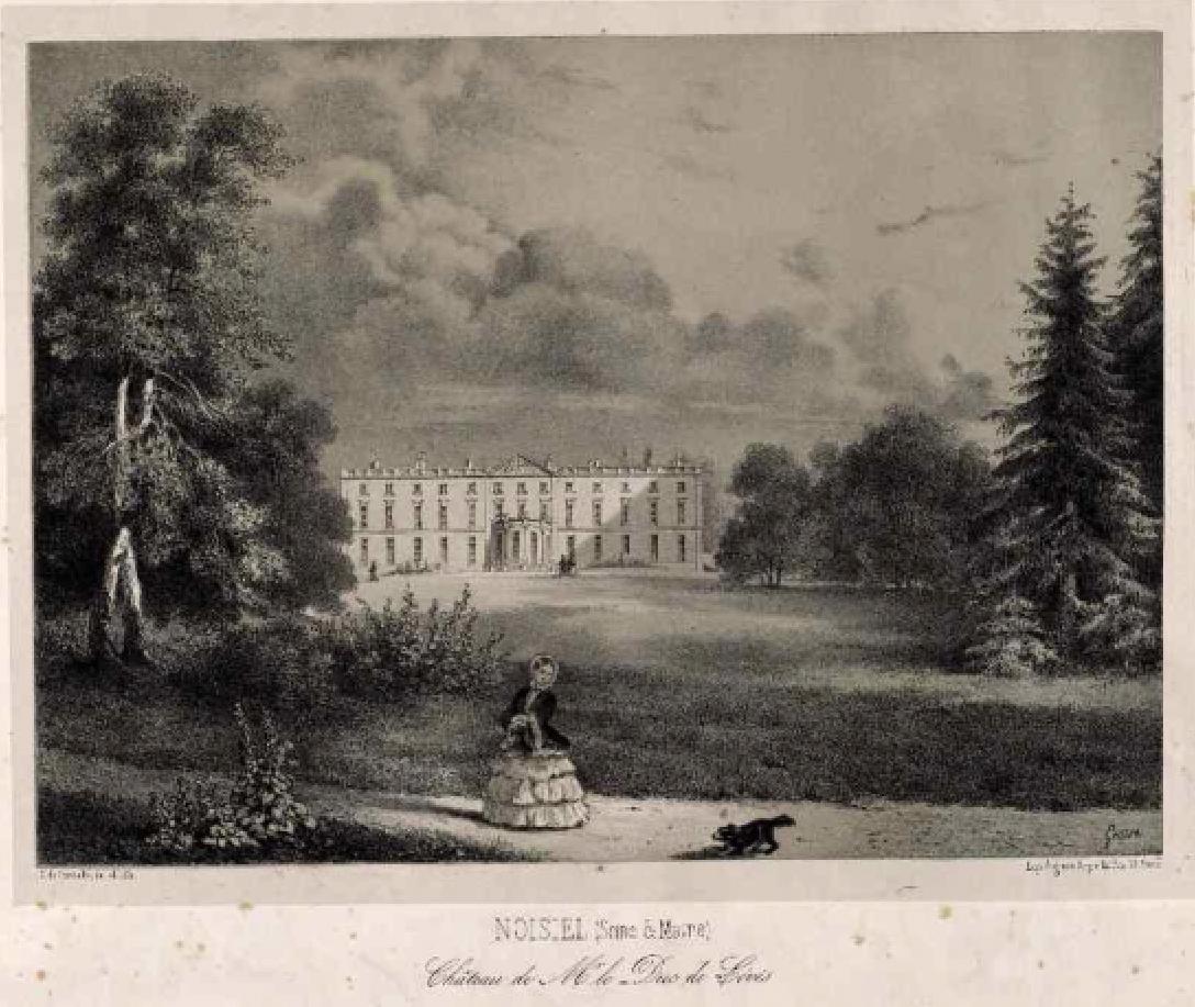 Château de LEVIS à Noisiel 1777-1879
