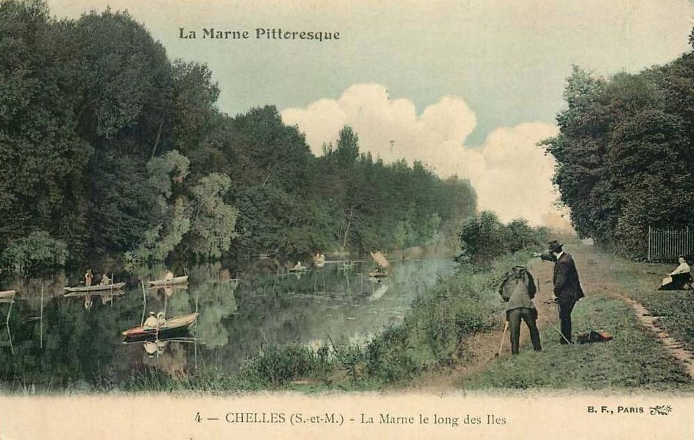Champs-sur-Marne et les îles de Chelles