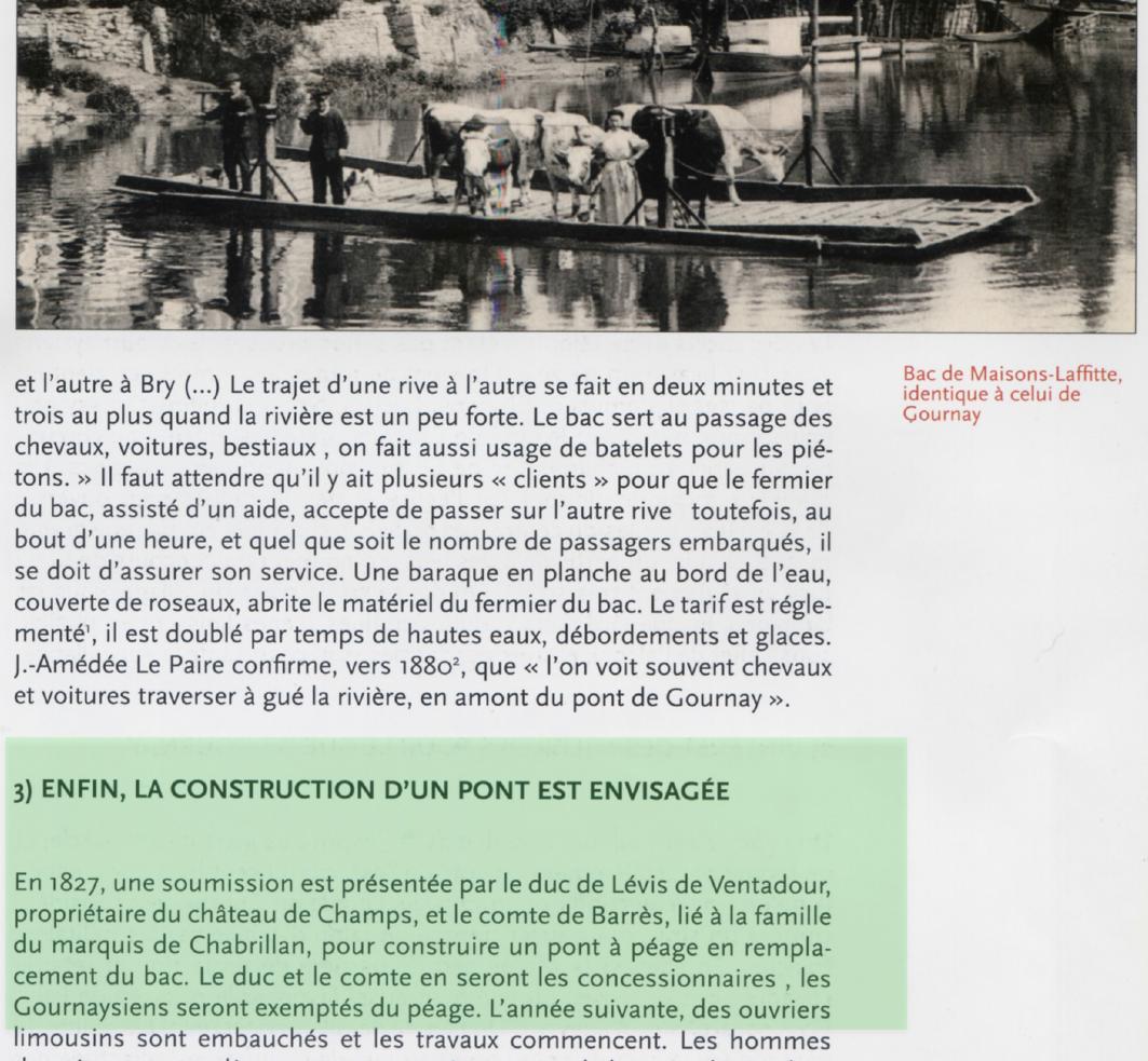 Pont à péage de Gournay sur Marne
